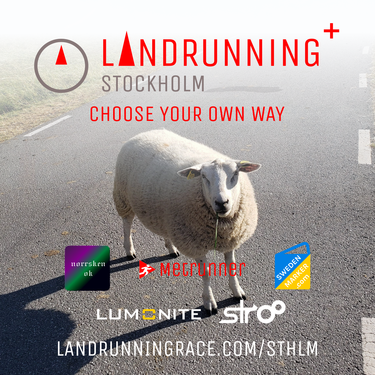 Landrunning Stockholm - choose your own way