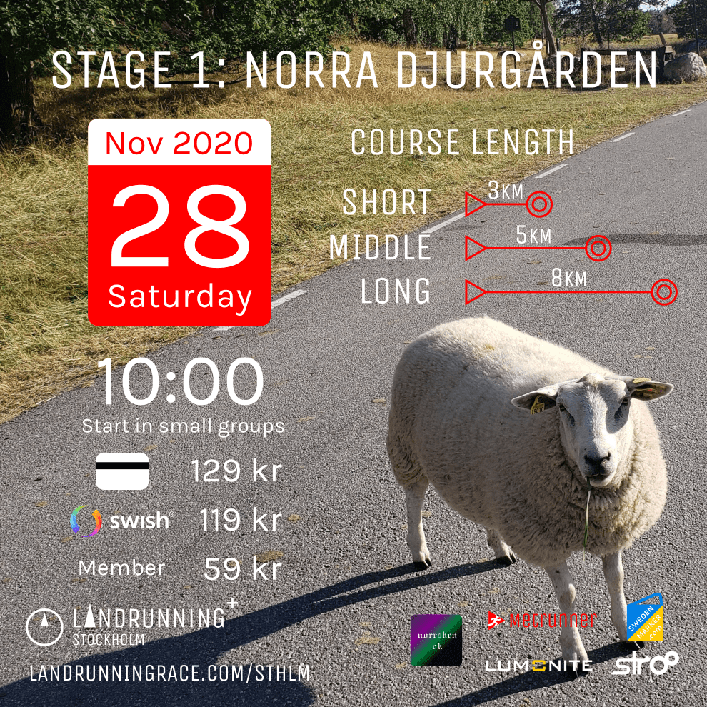 Stage 1 in Norra Djurgården will be held on 28 November 2020.